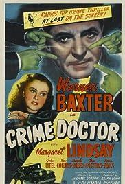 Crime Doctor(1943) Poster - Movie Forum, Cast, Reviews