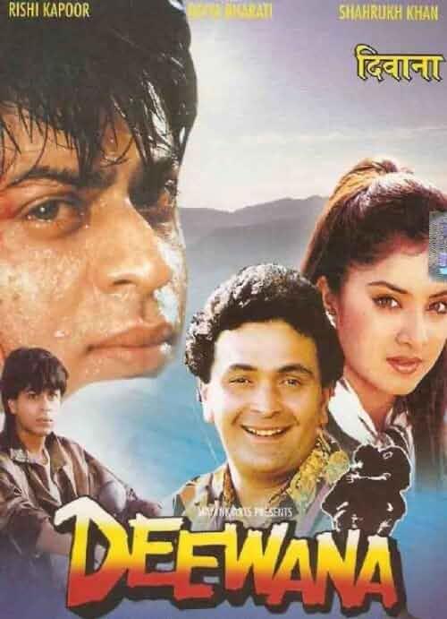 Deewana 1992 Hindi 720p HDRip x264 AAC - Hon3yHD