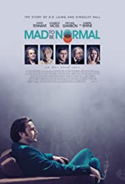 Mad to Be Normal Poster