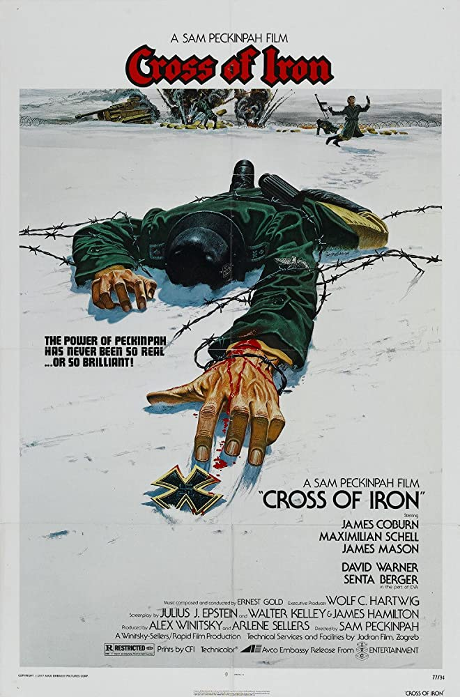 Cross of Iron 1977 1080p BluRay x264 DTS 5 1 MSubS - Hon3y