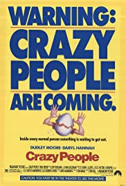 Crazy People Poster