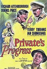 Private's Progress Poster