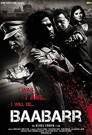 Baabarr Poster