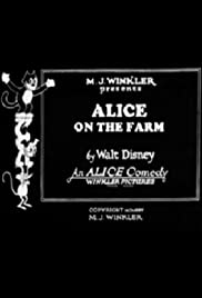 Alice on the Farm Poster