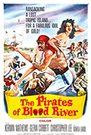 The Pirates of Blood River Poster