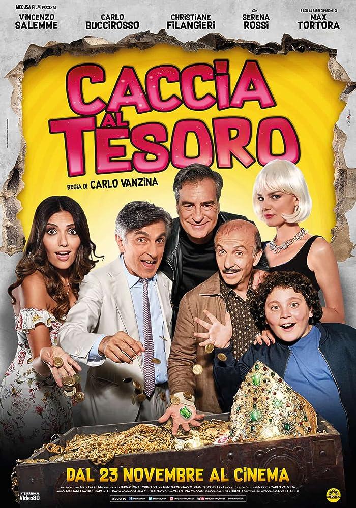 Image result for CACCIA AL TESORO ( 2017 ) POSTER