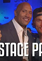 Primary image for Backstage Pass with the Rock Feat. Kevin Hart, Terry Crews, Tenacious D & More!!
