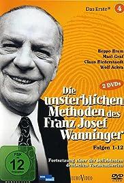Die unsterblichen Methoden des Franz Josef Wanninger Poster