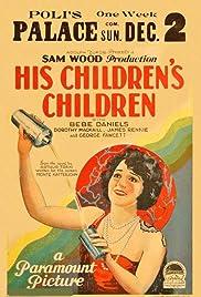 His Children's Children Poster