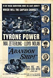 Abandon Ship Poster