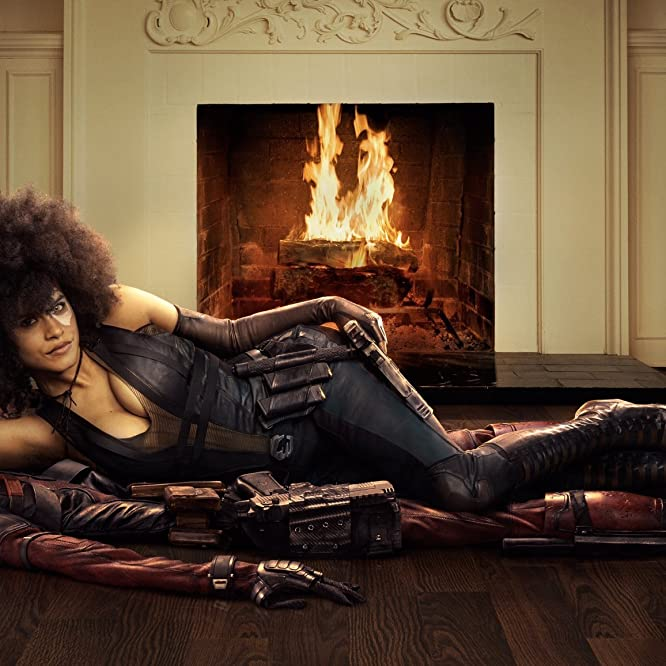 Ryan Reynolds and Zazie Beetz in Deadpool 2 (2018)