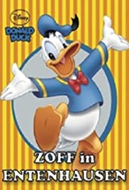 Down and Out with Donald Duck Poster