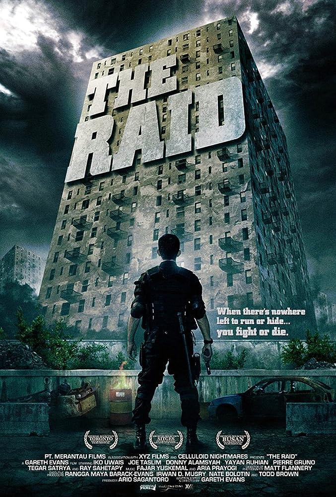The Raid Redemption (2011) ORG 350MB BluRay Dual Audio Hindi 480p x264 ESubs