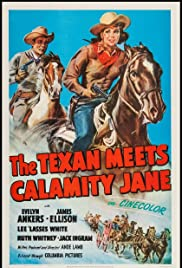 The Texan Meets Calamity Jane Poster