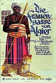 Die Frauengasse von Algier Poster