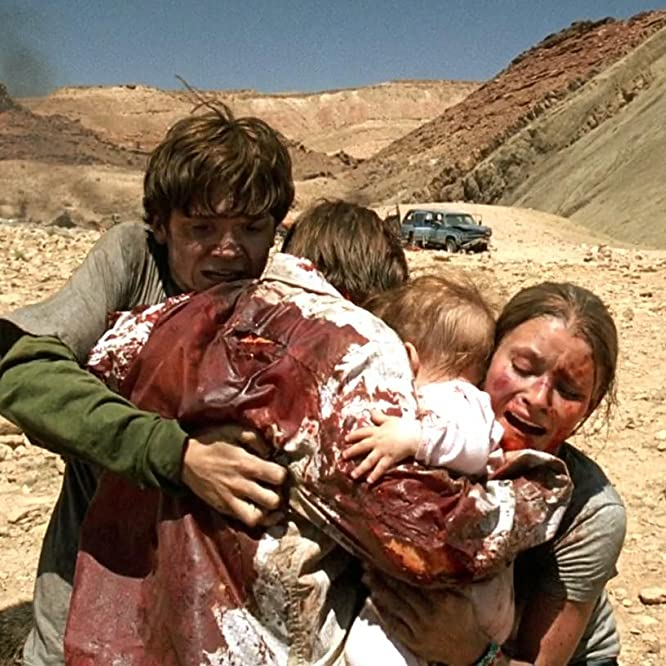 Dan Byrd, Emilie de Ravin, and Aaron Stanford in The Hills Have Eyes (2006)