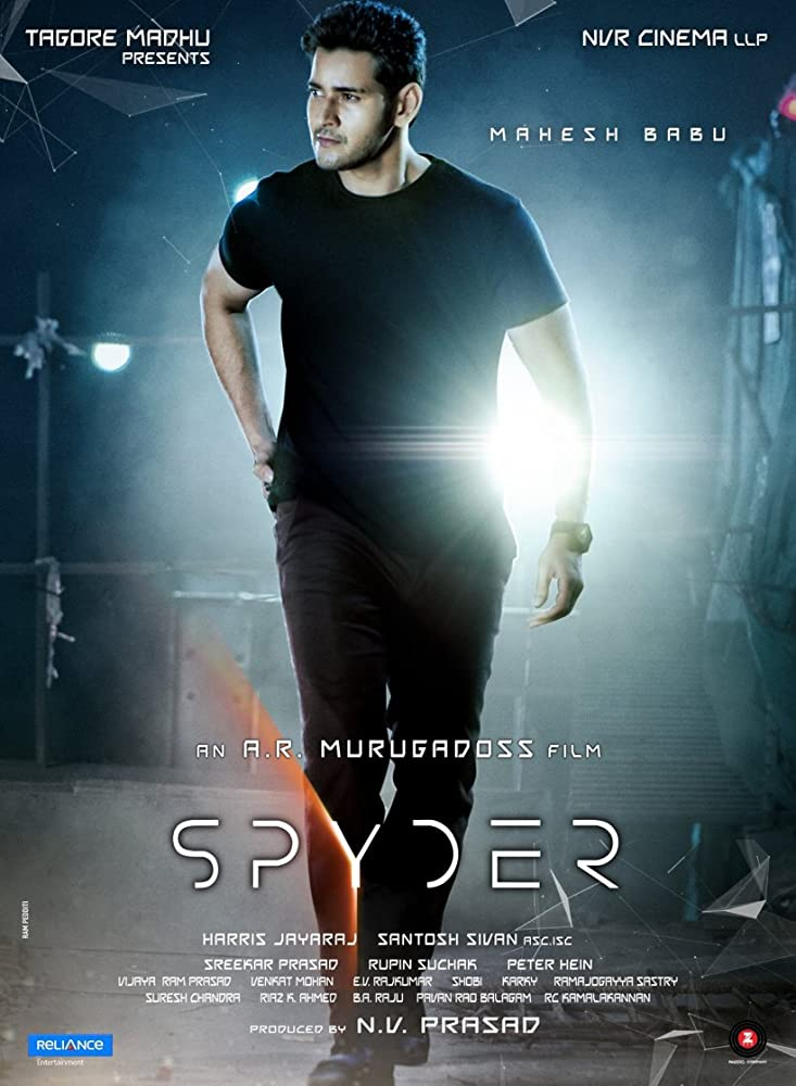Spyder (2017) Hindi Dubbed Movie
