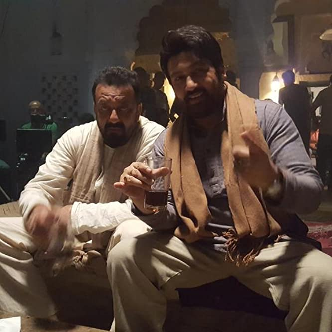 Sanjay Dutt and Shekhar Suman in Bhoomi (2017)