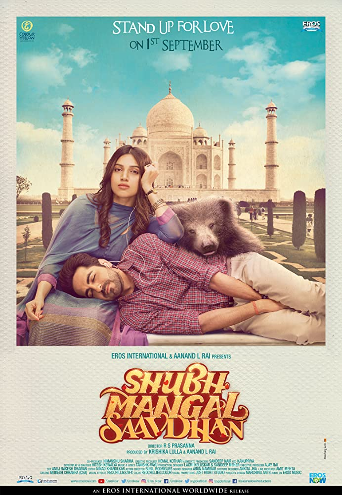 Shubh Mangal Saavdhan 2018 Latest Movie Hindi 480p DVDRip 300mb
