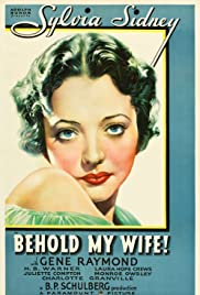 Behold My Wife! Poster