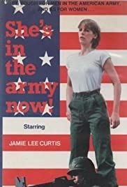She's in the Army Now Poster