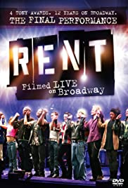 Rent: Filmed Live on Broadway Poster