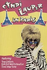Cyndi Lauper in Paris Poster