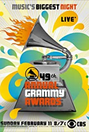 The 49th Annual Grammy Awards Poster