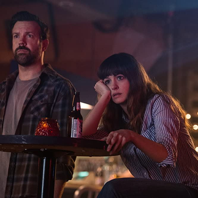 Anne Hathaway and Jason Sudeikis in Colossal (2016)
