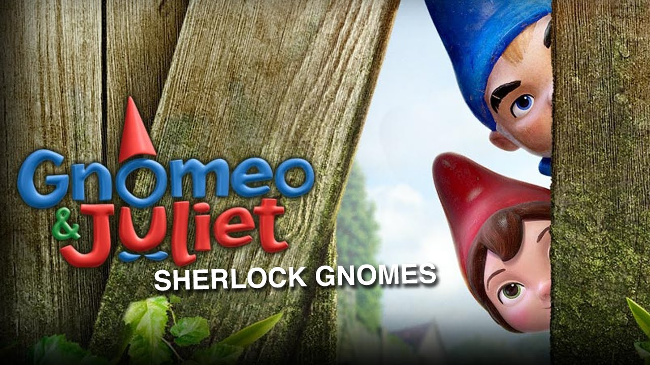 James McAvoy and Emily Blunt in Sherlock Gnomes (2018)