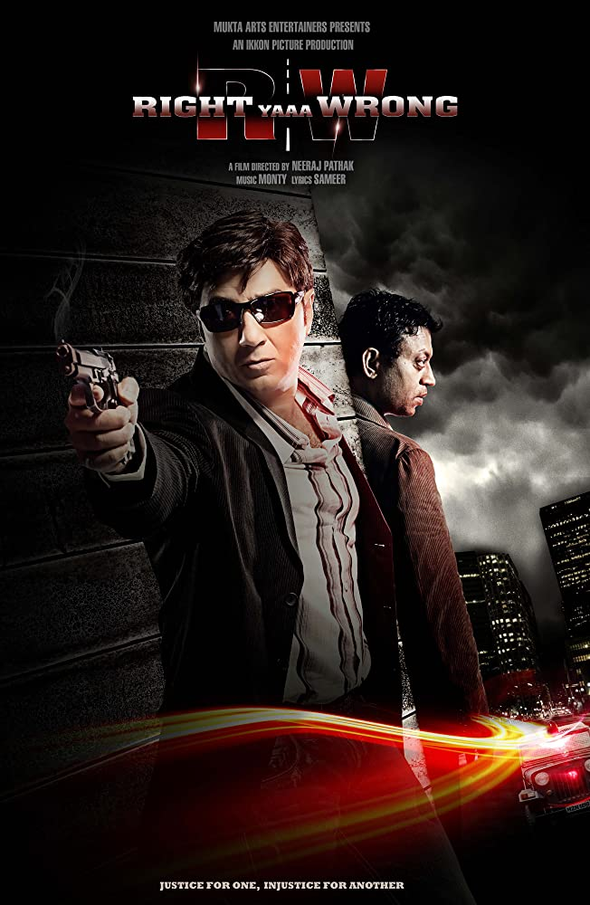 Right Yaaa Wrong 2010 Multi Audio DVDRip [Tamil + Telugu + Hindi] 800MB ESubs
