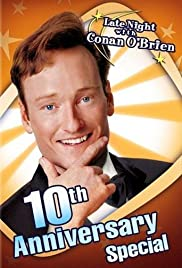 Late Night with Conan O'Brien: 10th Anniversary Special Poster