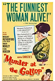 Murder at the Gallop(1963) Poster - Movie Forum, Cast, Reviews