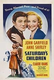 Saturday's Children(1940) Poster - Movie Forum, Cast, Reviews