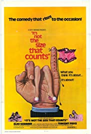 It's Not the Size That Counts Poster