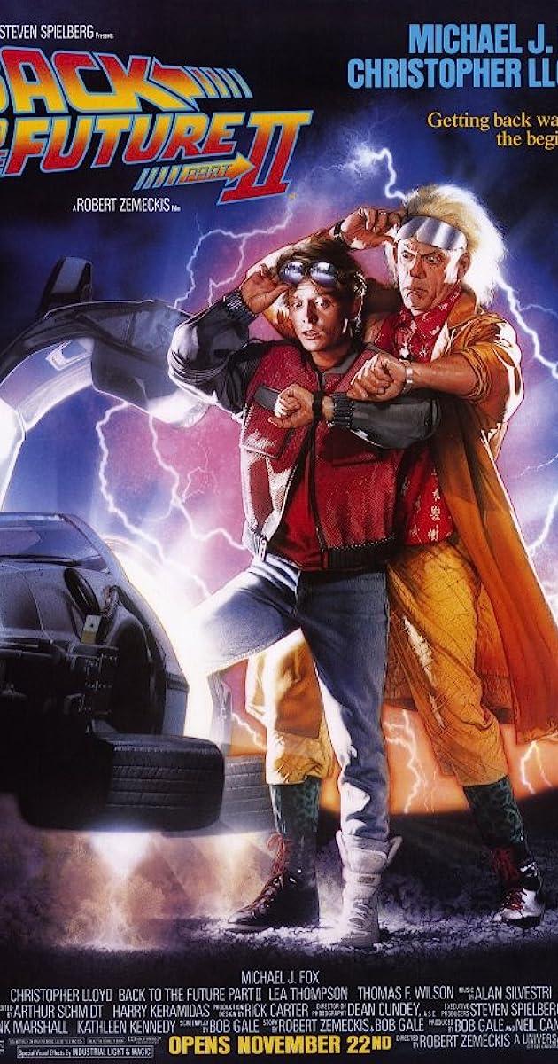 Back to the future part ii 1989 imdb fandeluxe Gallery