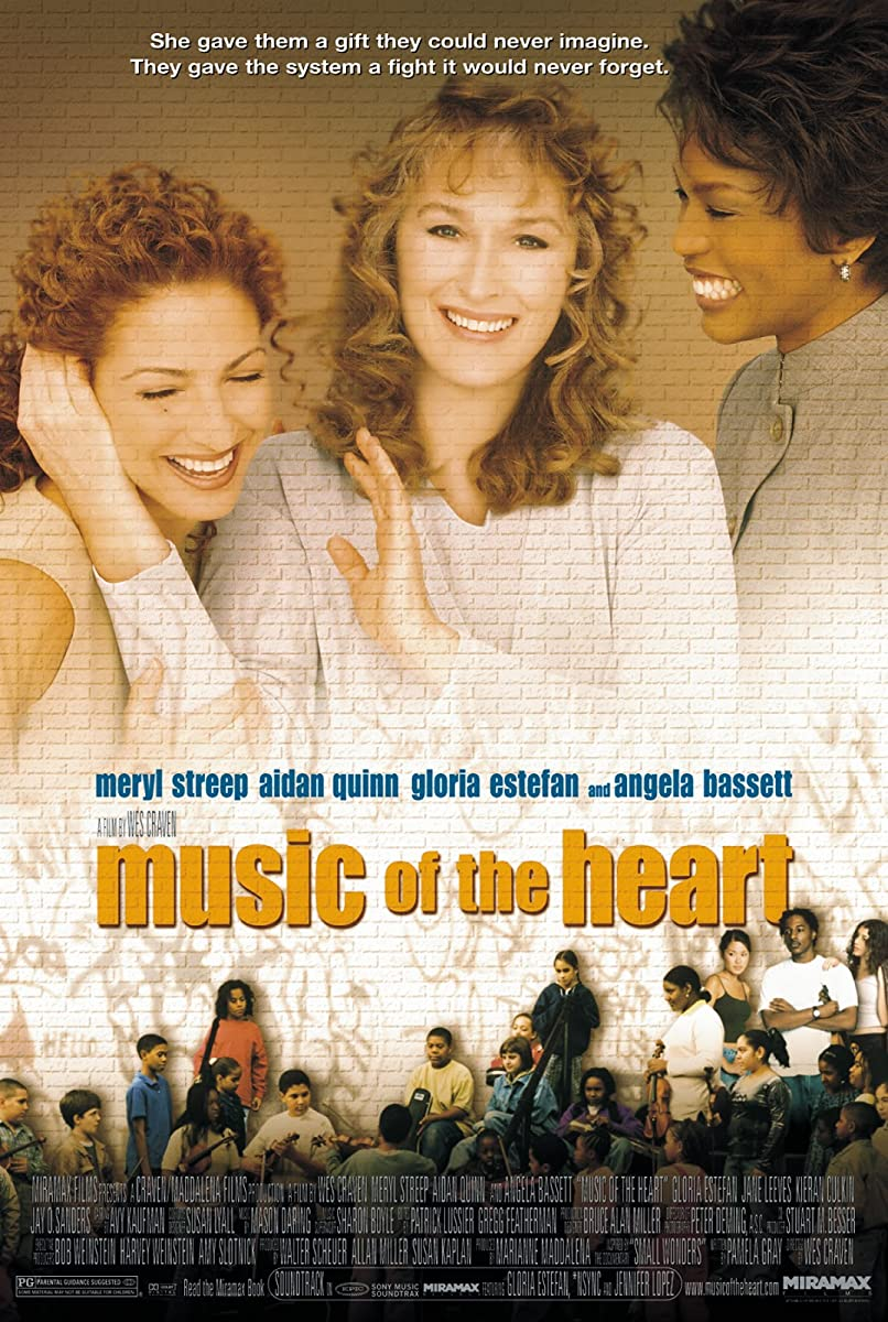 Širdies muzika / Music of the Heart (1999)