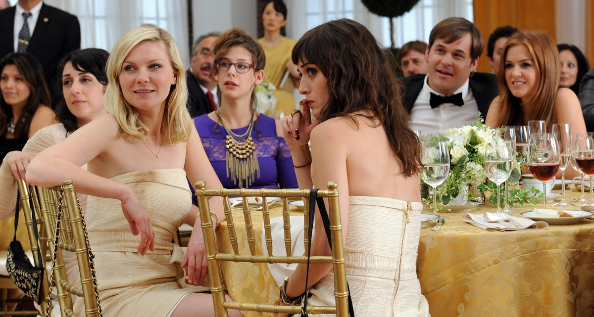 Kirsten Dunst, Lizzy Caplan, Isla Fisher, and Kyle Bornheimer in Bachelorette (2012)