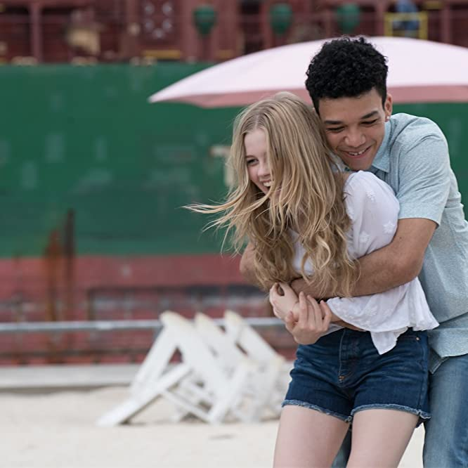 Angourie Rice and Justice Smith in Every Day (2018)