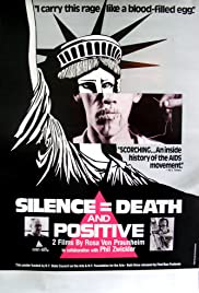 Silence = Death Poster