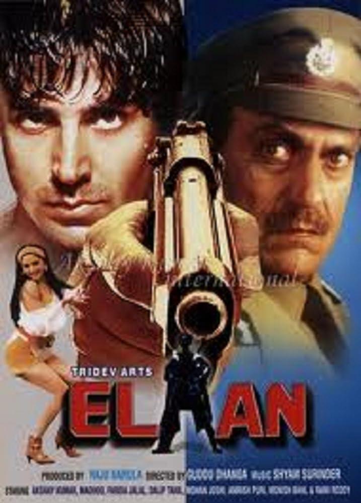Elaan (1994) Hindi 720p HDRip x264 990MB Download
