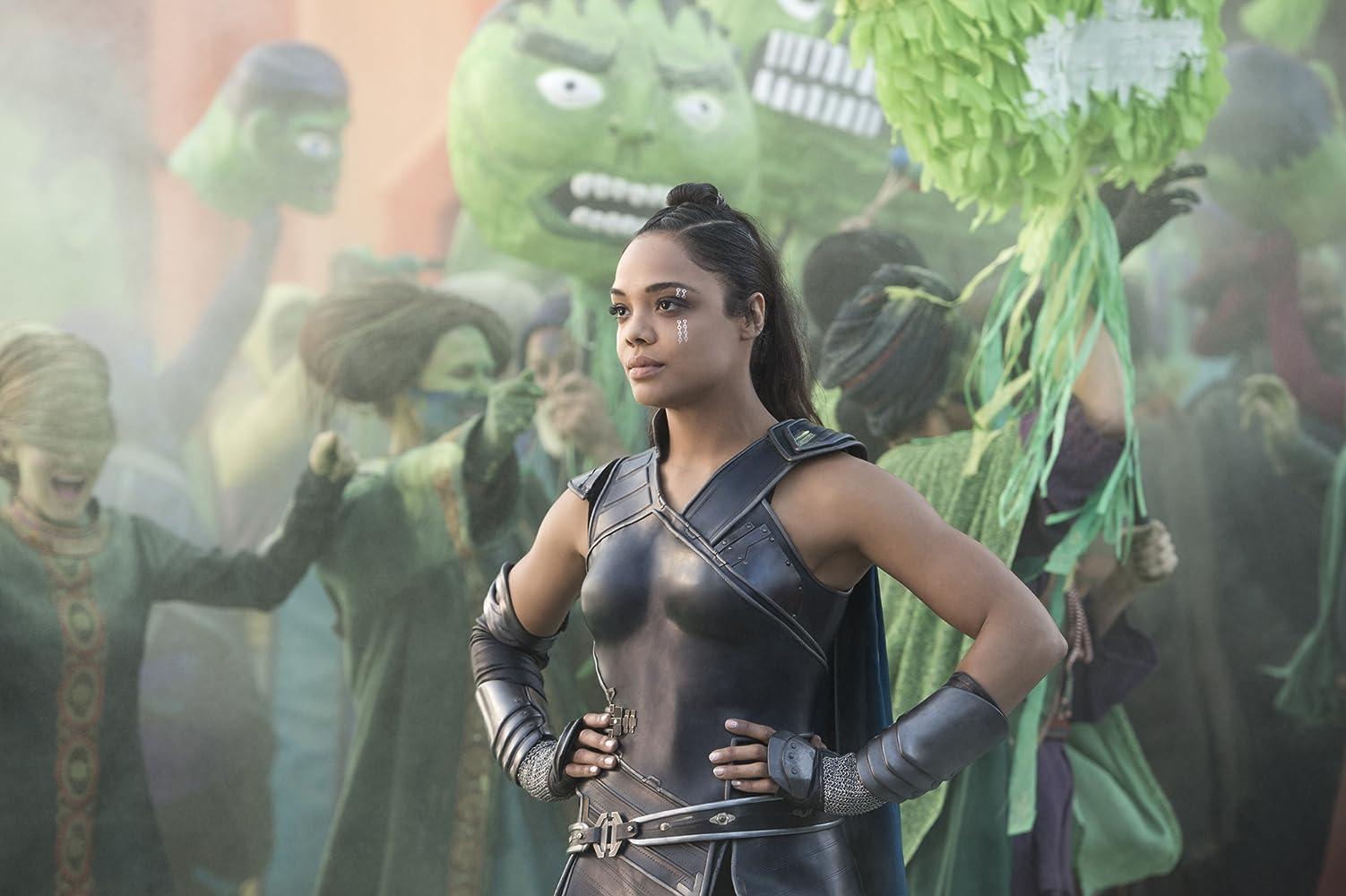 Tessa Thompson in Thor: Ragnarok