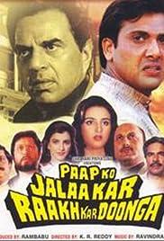 Paap Ko Jalaa Kar Raakh Kar Doonga Poster