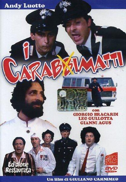 Image result for I CARABBIMATTI ( 1981 ) POSTER