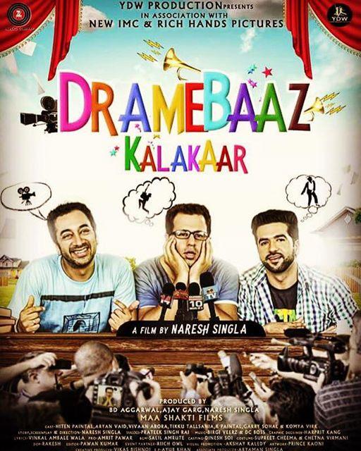 Dramebaaz Kalakaar (2017) Punjabi 720p HDRip x264 900MB