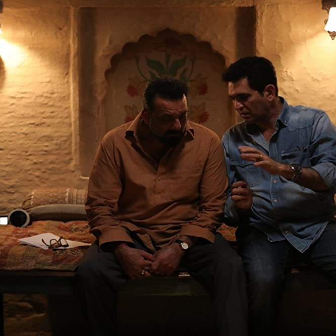 Sanjay Dutt and Omung Kumar in Bhoomi (2017)