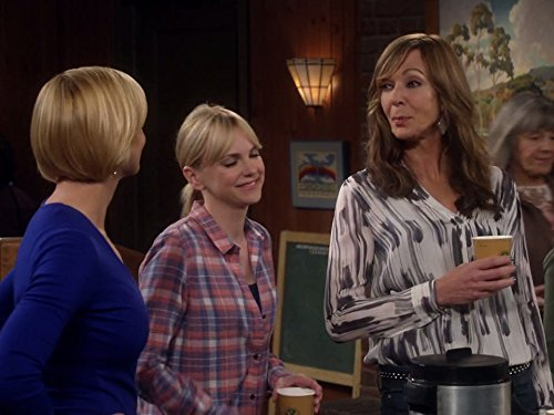 Allison Janney, Jaime Pressly, Anna Faris, and Mimi Kennedy in Mom (2013)