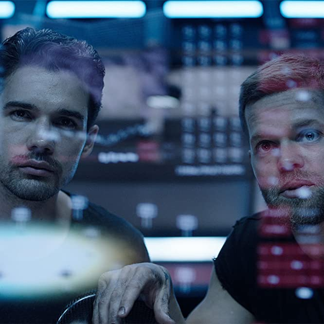 Wes Chatham and Steven Strait in The Expanse (2015)