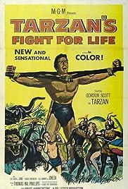 Tarzan's Fight for Life Poster