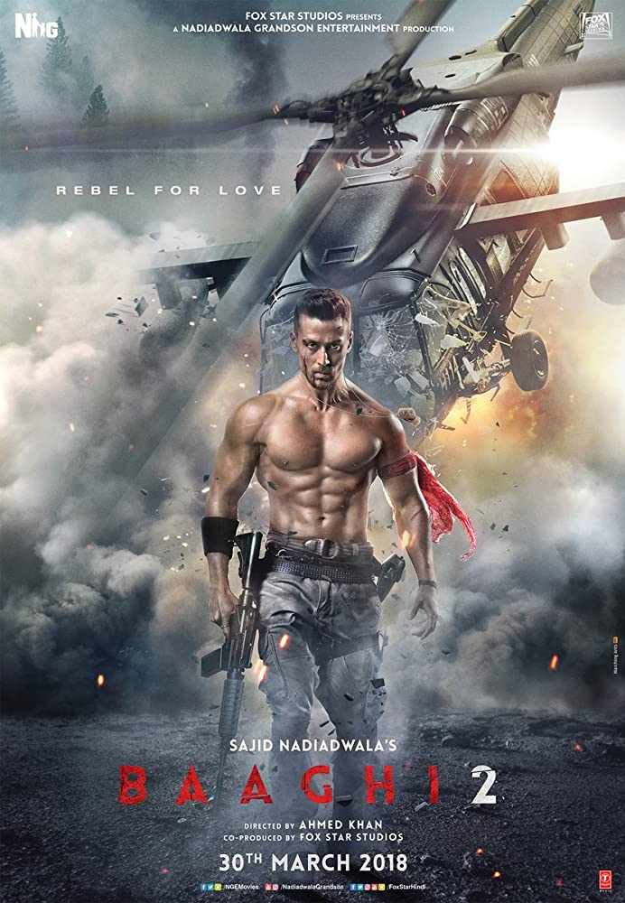 Baaghi 2 2018 Latest Movie 300mb